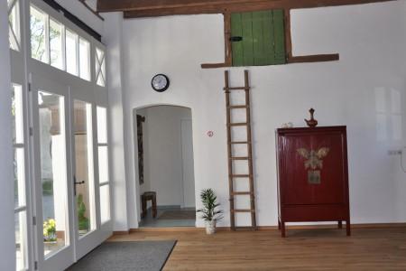 Eingangsbereich - Halle der alten Pflanzschule